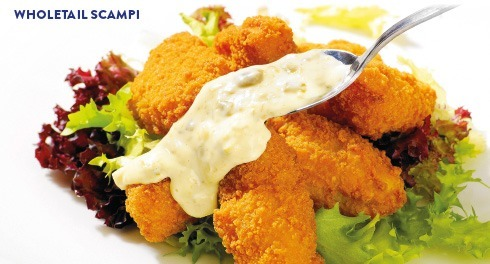 Wholetail Scampi